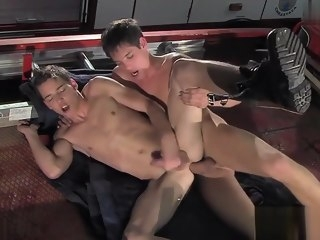 sexy Sexy stepfather shower sex stepfather