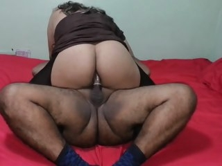 chubby Chubby Crossdresser Slams Hard Dick With His Ass crossdresser