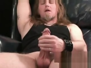 gay Gay metalhead masturbation makes big dick cumshot metalhead