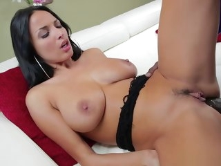 anissa Anissa Kate straddles a big black cock kate