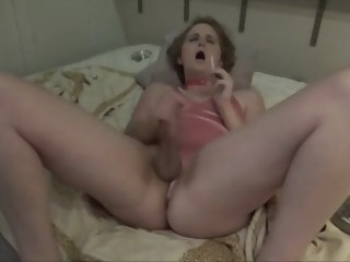 daddy Daddy's sissy smoking and allowed to cum sissy